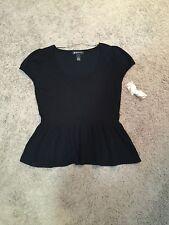 Women's INC International Concepts Black Sweater - Size Large Petite - NWDT!!