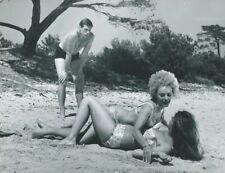 SOPHIE HARDY JEAN VALMONT LA BAIE DU DESIR 1964 PHOTO ORIGINAL  #4 MAX PECAS