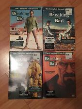 Breaking Bad Complete Series Seasons 1 2 3 4 (DVD) -- POPULAR TV SHOW!