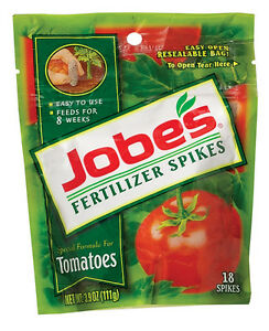 Jobe's  Fertilizer Spikes  For Tomato Plants 18 pk