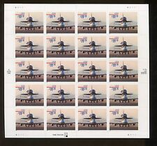 Full Sheet of 20 USPS Express Mail PiggyBack Space Shuttle US Stamps #3262