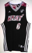 "LeBron James ""Extremely Rare"" Miami Heat Adidas Swingman NBA Jersey Size L"