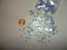 300 pc.Vintage Mini  Flower shape plastic sequins