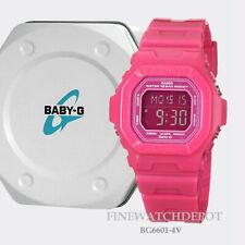 Authentic Casio Baby-G Pink Digital Display Watch BG6601-4V
