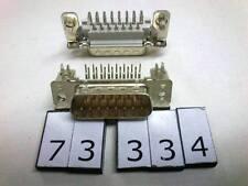 DSUB15 15pin D-SUB male connector for PCB angle 7.2mm Lot-5pcs
