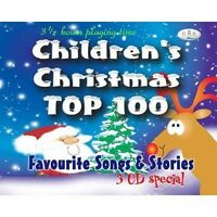 Childrens Christmas Top 100  Kids Xmas Christmas music Songs Stories CD - New