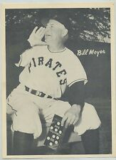 1950 Pittsburgh Pirates Big League Novelty Bill Meyer SCARCE ISSUE EX+