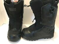 $229 32 Lashed FT Mens Snowboard Boot Fasttrack ThirtyTwo Size 7 Black NWOB