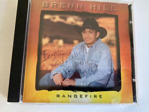 Rangefire Par Brenn Hill CD, 1997 Signé