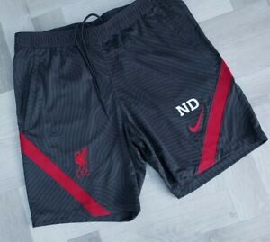GENUINE  MEN,S  Liverpool FC 2020/21 Nike Men's  Shorts UK LARGE  DARK GREY
