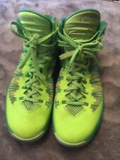 NIKE  Men's Hyperdunk Flash Lime/Electric Green size12 basketball shoes