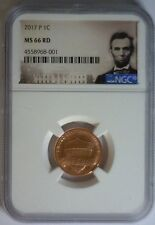 2017 P NGC MS66 Red LINCOLN Cent 1c MS 66Rd  ~ MS 66