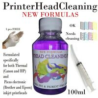 Printer cleaner cleaning kit .Unblock printhead nozzle