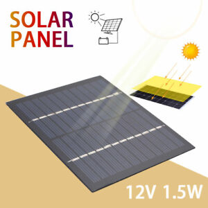 Reusable Durable Solar Cells 1.5W 12V Phone Charger Home Improvement Solar Panel