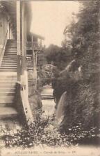 Aix-les-Bains, FRANCE - Cascade of Gresy - U.S. A. WWI A.E.F. Censor Passed - 18