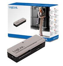 LogiLink USB 2.0 Mini Card Reader All-in-1 Silber/schwarz