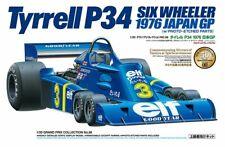 TAMIYA 1/20 No.58 Tyrrell P34 SIX Wheeler 1976 Japan GP Plastic Model Kit