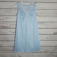 Vintage New Vanity Fair Nylon Lingerie  Sleepwear Nightgown Made In USA Sz M -C2