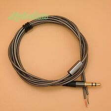 3.5mm Jack DIY Earphone Audio Cable Headphone Repair Replacement Wire Cord A13