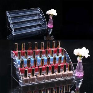 Multilayer Nail Polish Rack Display Makeup Storage Organizer Stand Box Case C2UK