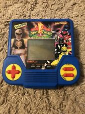 Talking Power Rangers Electronic Lcd Game By Tiger Very Rare Tested