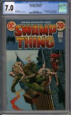 Swamp Thing #2 CGC 7.0 (OW-W) 1st Full Anton Arcade