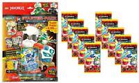 "Lego® Ninjago™ Serie 5 "" Next Level"" Trading Card Game Starterpack + 10 Booster"