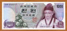 South Korea, 1000 ( 1,000 ) won, (1975), P-44, UNC