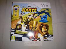 DreamWorks Super Star Kartz (Wheel/Volante) Azul PRECINTADO WII