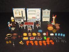 Playmobil Victorian Dollhouse Kitchen Furniture Toy Lot