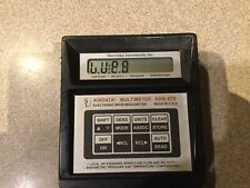 Shortridge Instruments Adm-870 Airdata Multimeter only Electronic Micromanometer