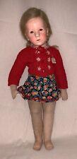 "Kathe Kruse Character Doll Rare Antique 20"" Original Clothes"