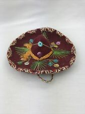 """Handcrafted Miniature Sombreo Hat 5""""D"""