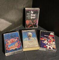 Heavy Metal Cassette Tape Lot Of 4 Dokken Scorpions Gilby Clarke Metal Years GNR
