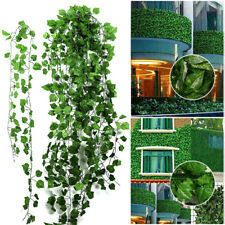 12X 2M Artificial Ivy Vine Fake Foliage Flower Hanging Leaf Garland Plant Party