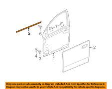 Saturn GM OEM Front Door Window Sweep-Belt Molding Weatherstrip Left 15235720