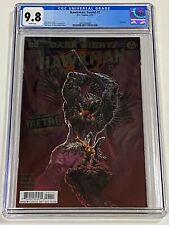 DARK NIGHTS HAWKMAN FOUND #1 CGC 9.8 DC Comics 2/18  FOIL cover