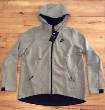 Nike Tech Fleece Women's Full Zip Hoodie Jacket 831709-411 Grey Heather Medium