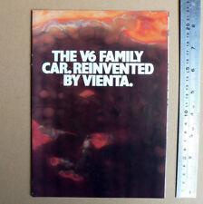 1993 TOYOTA TWIN CAMRY VIENTA V6 Sales Brochure CSi Executive Ultima Advertising