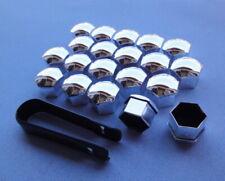 20 nero aletta madre m12x1,25x34 sw17 cono cono federale 60 ° in Alluminio Cerchio in acciaio