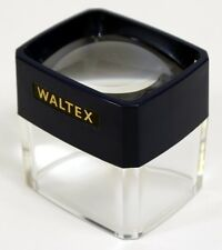 MAGNIFIER - WALTEX 3X Desk Magnifier, Bug Viewer, Coin/Stamp Magnifier NEW (132)