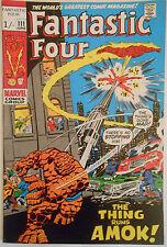 FANTASTIC FOUR #111 - JUN 1971 - BRONZE AGE CLASSIC! - HIGH GRADE - VFN (8.0)