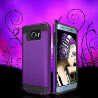 Slim Hybrid Hard Case Shockproof Phone Rubber Cover For Samsung Galaxy Phones