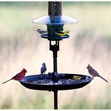 Bird Seed Catcher Platform Tube Feeder Tray Outdoor Back Yard Deck Patio Garden
