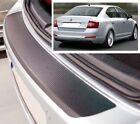 Skoda Octavia Mk3 5e3 Hatchback - estilo Carbono Parachoques trasero PROTECTOR