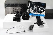 "Contax 100mm F/4 S-Planar Bellow Lens full set ""Rare Exc++ in full Box"" #0960"