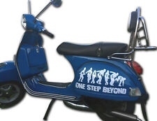 Madness One Step Beyond Sticker Set White Fits Vespa PX T5 LML Sidepanel SK8
