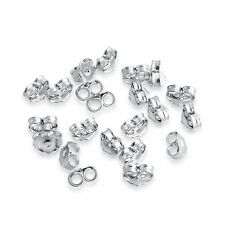 20pcs of 925 Sterling Silver Back Locks Supply Parts for Post Earrings