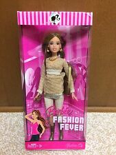 Barbie Doll Fashion Fever Teresa Gold Outfit Glitter Makeup Rare