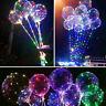 PRO,Led Balloon Transparent Clear Luminous Round Bubble-Christmas Decor